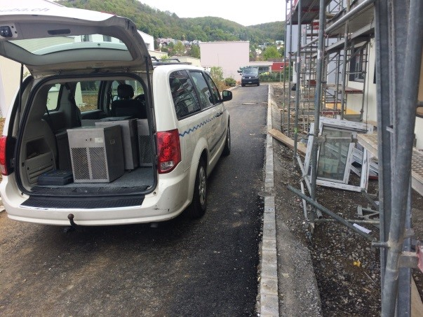 Austrocknung Neubau - Vermietung Luftenfeuchter, BUBA AG