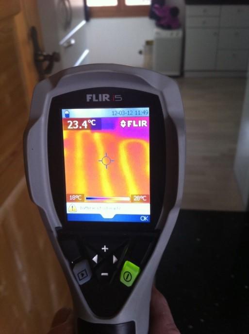 Thermographie, Buba AG, Ehrendingen