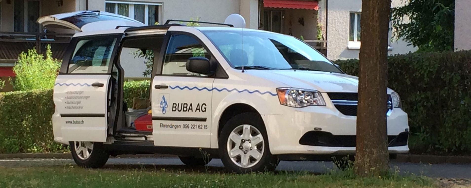 Auto der BUBA AG in Ehrendingen
